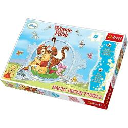 Puzzle cu 15 piese Winnie the Pooh