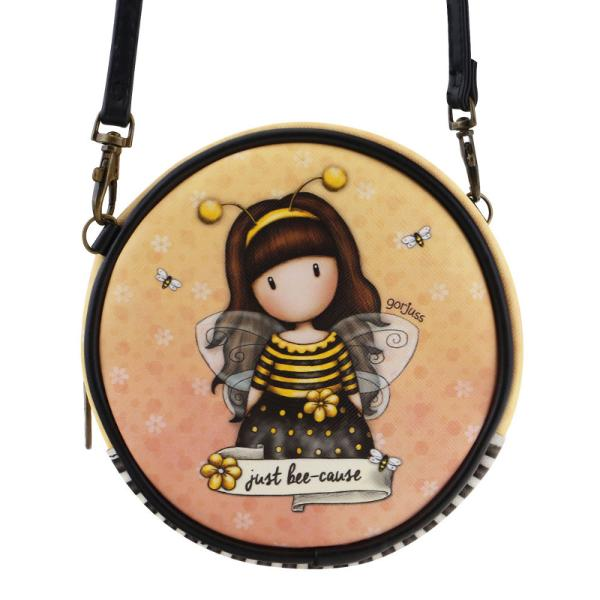 Gentuta rotunda Gorjuss Bee LovedCaracteristiciMaterial piele ecologicaDimensiuni&160;13x13x5 cmVarsta recomandata 3 aniPersonaj Gorjuss&160;Bee Loved