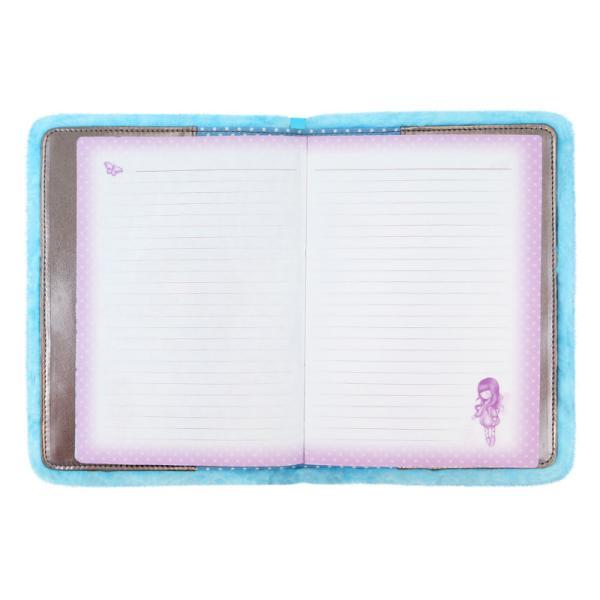 Agenda A4 Gorjuss Furry Bubble FairyCaracteristici&160;Dimensiune&160;224x17x22 cm format A4Colectie Gorjuss&160;Furry cu blanitaPersonaj Gorjuss&160;Bubble FairyPagini 192&160;
