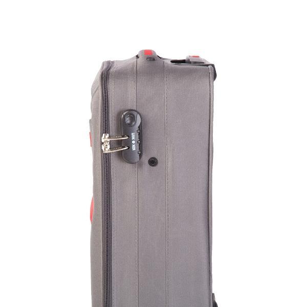 Troler cu 2 roti2 buzunare frontaleTroler mare si mediu expandabil 30Sistem de inchidere cu cifruManer superior si lateral si suport de sustinere la baza trolerului pentru o manevrare mai usoara pentru marimea mare si mediePlacuta identificareBuzunar interior inchis cu fermoarLa interior prezinta bretele elastice pentru fixarea bagajului si un buzunar cu fermoarDimensiune55x36x20 CM