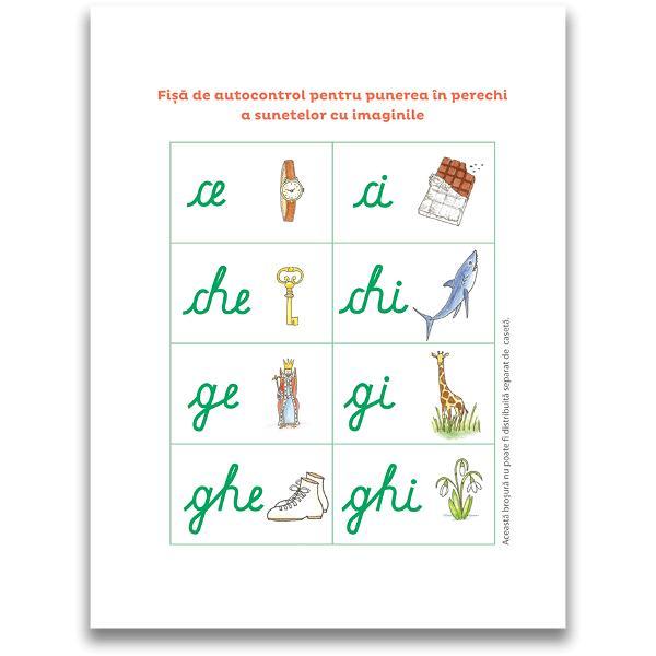 Activit&259;&539;i concepute de o educatoare Montessori pentru a-i înso&539;i pe copii pe drumul înv&259;&539;&259;rii citit-scrisului Aceast&259; caset&259; ludic&259; &537;i practic&259; con&539;ine - Dou&259; Jocuri de jetoane care invit&259; copiii s&259; descopere literele într-o manier&259; senzorial&259;  - 8 jetoane abrazive pentru stimularea pip&259;itului v&259;zului auzului &537;i