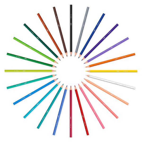 Creioanele de colorat BIC Kids Tropicolors sunt minunate pentru copiii cu varsta mai mare de 5 ani Aceste creioane de colorat au o forma hexagonala iar corpul lor are aceeasi culoare ca si mina de colorat; astfel acestea pot fi recunoscute cu usurinta si se pot diferentia usor culorile Cu mina lor de 29 mm copiii pot crea desene frumoaseBIC Kids Tropicolors sunt disponibile intr-o paleta de 12 culori intens luminate De peste 65 de ani BIC produce articole de calitate BIC KIDS este o