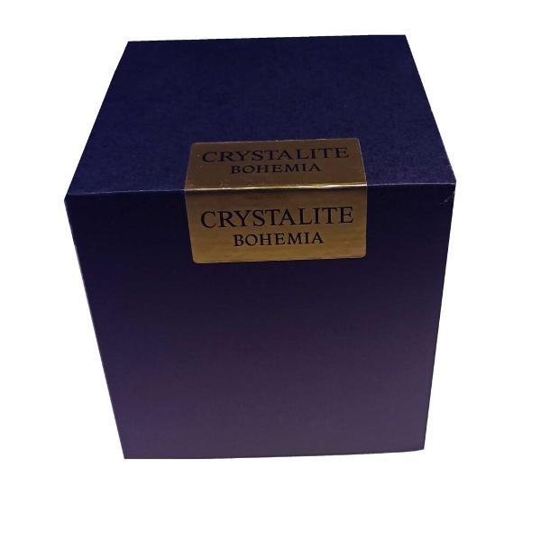 Bomboniera cu Capac Facet 14cm din Sticla CristalinaCutie de cadou inclusaFabricat in CehiaMaterial – Sticla cristalina  Cristalin