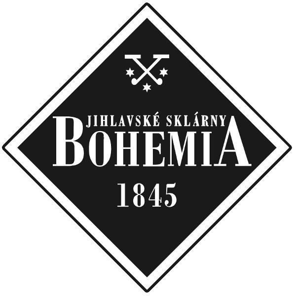 Vaza sticla cristalina fabricata de Bohemia model Sydney-X 22 cmCutie clasica inscriptionata BohemiaVaza au marcajul de autenticitate Bohemia