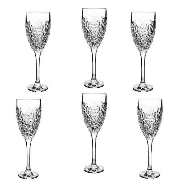 Set 6 pahare Vin Model Nicolette din Cristal de Bohemia 320mlSetul contine 6 pahareCutie clasica inscriptionata BohemiaPaharele au marcajul de autenticitate Bohemia