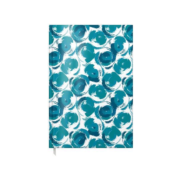 AGENDA A5 NEDATATA 100F BLUE SPIRIT coperta carton buretat laminata lucios interior hartie offset 80gtiparita color cusuta semn de carte primelepagini sunt calendar pentru anii 2022 2023 si 2024 planificator saptamanal si informatii utilediv classproduct-page-description-ad
