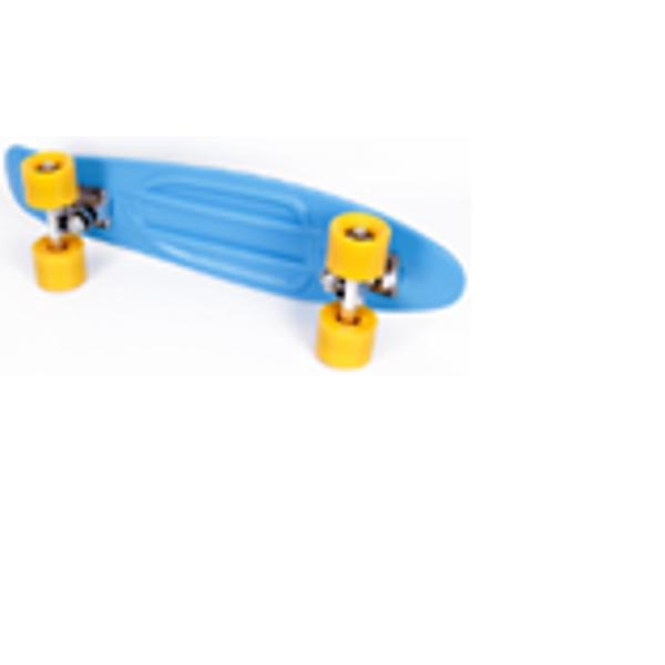 MAXTAR Skateboard ENERGY marime 56 x 15 cmSkateboard din metarial plastic turnat Rulmenti roti ABEC 5Purtati echipament de protectie cand folositi acest produs