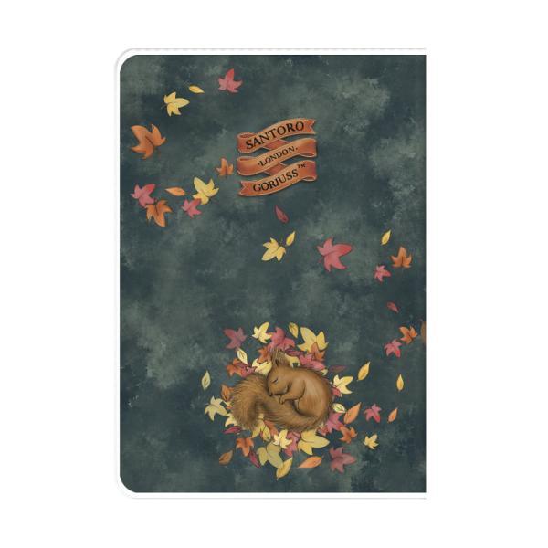 Caiet A5 cu coperta Gorjuss-Autumn LeavesCaietul A5 cu coperta Gorjuss-Autumn Leaves este la indemnana pentru utilizarea de zi cu zi potrivit ca si dimensiune pentru a fi purtat in geanta Fiecare pagina liniata este frumos prezentata cu spatiu alocat special pentru zilele saptamanii si optiuni meteo in colturile de sus inclusiv imagini ale indragitelor fetite GorjussCaiet A5 Gorjuss80 de pagini
