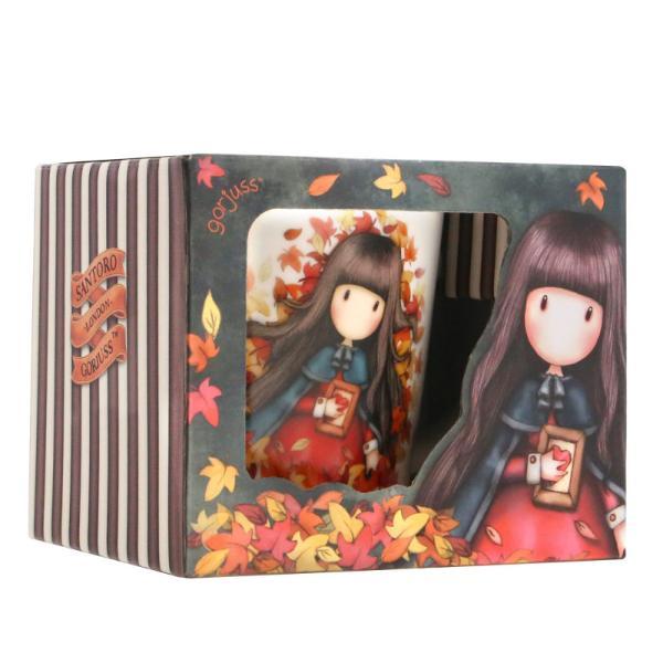 Cana din portelan de 300 ml Gorjuss Autumn LeavesDimensiuni 12x9x9 cm&160;