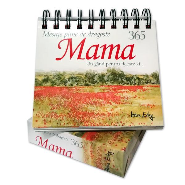 Un cadou minunat pentru cea mai iubit&259; mam&259; Acest calendar este f&259;cut s&259;-i stea pe noptier&259; sau pe mas&259; pentru a-i aminti în fiecare zi cât de mult este iubit&259;
