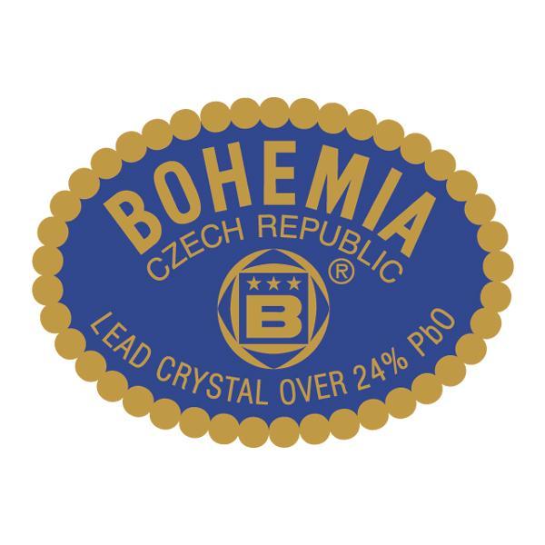 Sfesnic pentru 1 lumanare model scoica din Cristal de BohemiaCutie de cadou clasica Bohemia culoare bleumarinNu contine lumanare